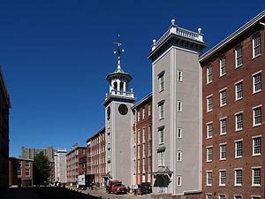 Boott Mills - Image: Boott courtyard