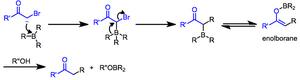 Reactions of organoborates and boranes - Image: Boron Mech 2