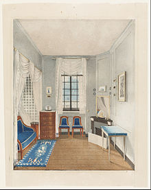 Ilration Of A Bedroom From France