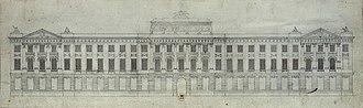 Hôtel des Monnaies, Paris - Étienne-Louis Boullée's design for the hôtel des Monnaies