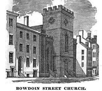 Bowdoin Street - Bowdoin Street Church, built 1831