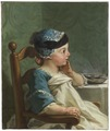 Boy in a Child's Chair (Jean Restout d.y.) - Nationalmuseum - 17885.tif