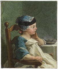 Boy in a Child's Chair