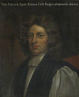 Simon Patrick English theologian and bishop