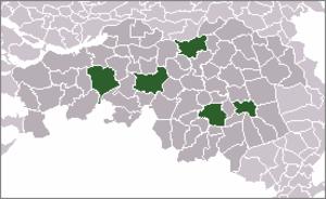 BrabantStad - Location of BrabantStad