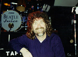 Brad Delp - Delp while playing for his band Beatlejuice