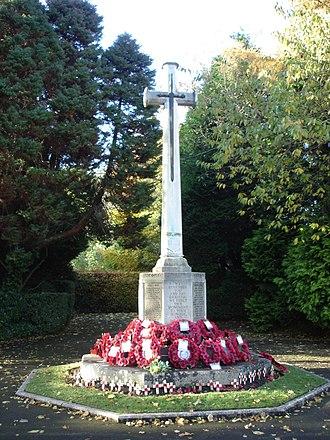 Bramhall - Bramhall War Memorial