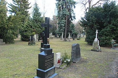 Ako do Ondrejský Cintorín hromadnou dopravou - O mieste