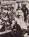 Braun, Adolphe - Das Gefolge von Napoleon III. bei Fontainebleu (Zeno Fotografie).jpg