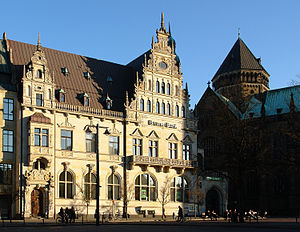 Bremen Exchange - The Bremer Bank building was the home of the Exchange between 1980 and 1990.
