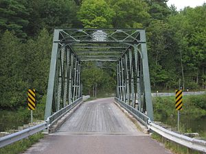 National Register of Historic Places listings in Addison County, Vermont - Image: Bridge 26 Weybridge New Haven Vermont