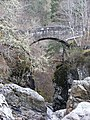 Bridge Over Upper Falls of Foyers - geograph.org.uk - 792694.jpg