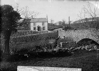 Bridge and factory house, Rhydygwystl