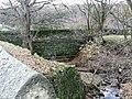 Bridge and stream near Lindley Wood Reservoir - geograph.org.uk - 1058048.jpg