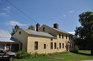 National Register of Historic Places listings in Cumberland County, Maine - Image: Bridgton ME Lt Robert Andrews House