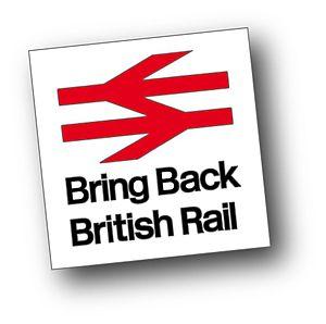 Impact of the privatisation of British Rail - Bring Back British Rail logo