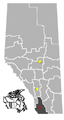 Brocket, Alberta Location.png