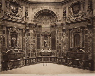 Medici Chapel - A 19th-century photograph of the interior of the Cappella dei Principi