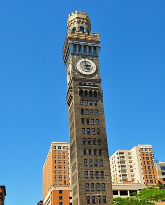 National Register of Historic Places listings in Maryland - Emerson Bromo-Seltzer Tower, Baltimore City