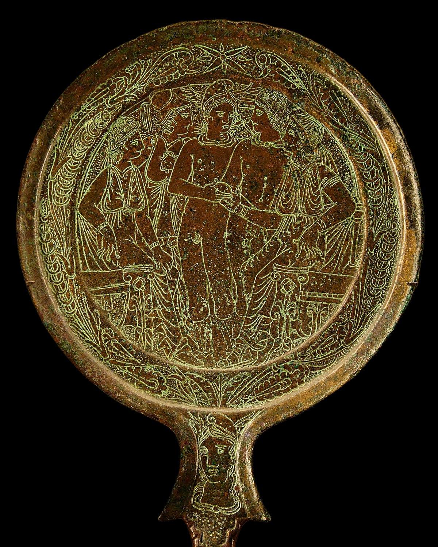 Bronze mirror - Wikipedia