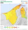 Brunei DNI Solar-resource-map GlobalSolarAtlas World-Bank-Esmap-Solargis.png