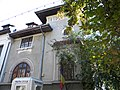 Bucuresti, Romania, Muzeul Memorial Prof. Dr. Victor Babes, Str. Andrei Muresanu nr. 14A; B-II-m-B-19267 (casa, detaliu 1).JPG