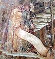 Buffalmacco, trionfo della morte, eremiti 08 eremita con cartiglio.jpg