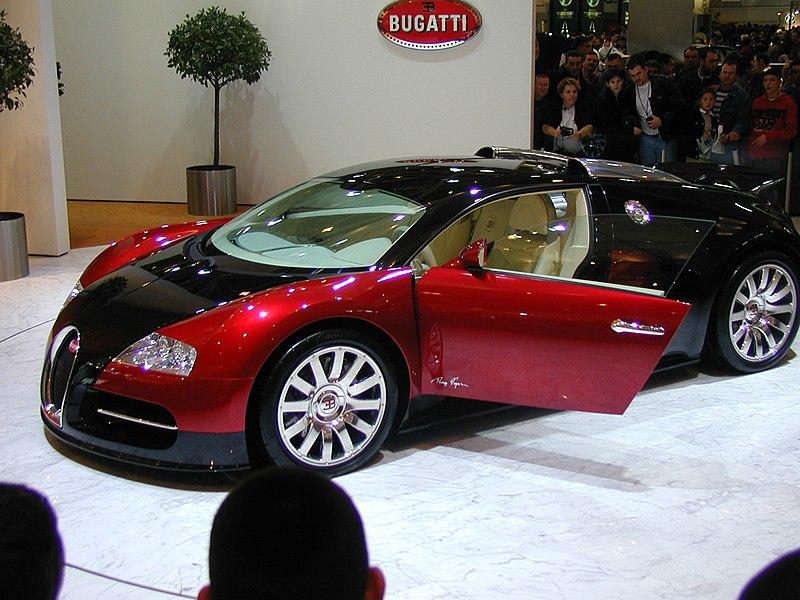 own: Bugatti Veyron 16.4