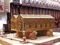 Burgos-Monasterio de las Huelgas-4-Tumba de Alfonso VIII y su esposa Leonor de Plantagenet.jpg