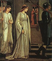 Edward Burne-Jones: Princess Sabra Led to the Dragon