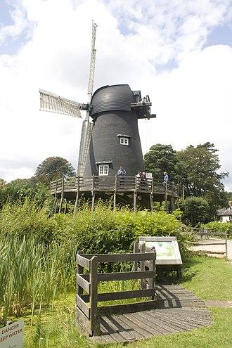 Grade II* listed buildings in Eastleigh (borough) - Image: Bursledon Windmill