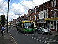 Bus climbing Nottingham Road, New Basford - geograph.org.uk - 3007842.jpg