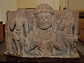 Bust of Rahu in Tarpan Mudra - Circa 8-9th Century CE - Mathura - ACCN 39-2836 - Government Museum - Mathura 2013-02-23 5231.JPG