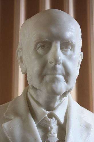 Édouard Lantéri - Bust of Sir Archibald Geikie, by Edward Lanteri 1916, Old College, University of Edinburgh