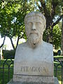 Buste de Pitagore (parc pincio).JPG