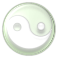 ButtonTaoismSymbolWhitegreen.PNG