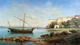 Fort royal par Ernest Buttura (1880)
