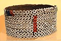 Bwami button hat, Lega peoples, Democratic Republic of the Congol, 20th century, plant fiber, plastic - Fernbank Museum of Natural History - DSC00008.JPG