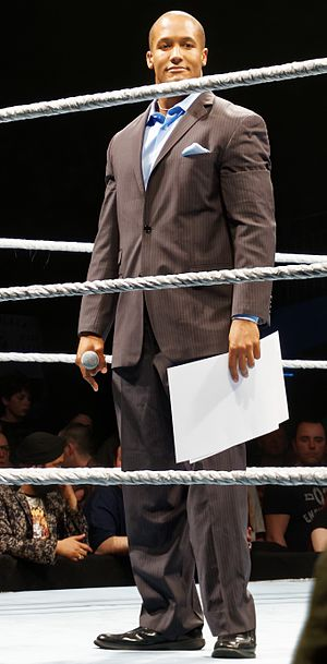 Byron Saxton - Saxton in April 2016