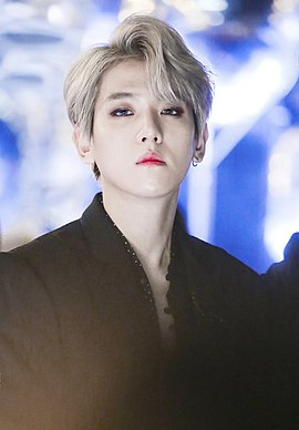 Byun Baek-hyun at Melon Music Awards on December 2, 2017.jpg