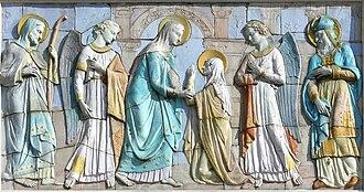 Église Notre-Dame-du-Mont - Image: Céramique de N.D. du Mont