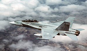 CF-188B 410 Sqn in flight over Utah 2001.JPEG