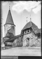 CH-NB - Avenches, Château, Tour, vue partielle - Collection Max van Berchem - EAD-7171.tif