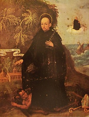 Constabilis - San Costabile and the miracle of the ship saved from the wreck of the monastery