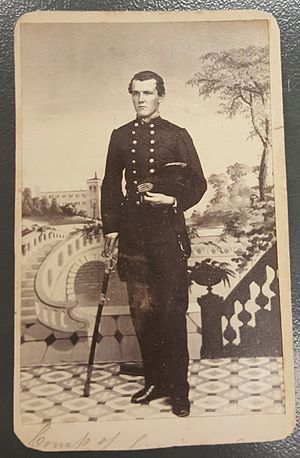 Hispanics in the American Civil War - Cipriano Andrade (retired in 1901 with the rank of Rear Admiral)