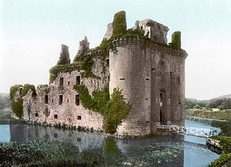 William Russell (knight) - Caerlaverock Castle, Dumfries, Scotland. Sir William Russell was part of the army at its siege in 1300