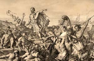Caesar's invasions of Britain - Image: Caesars invasions of Britain