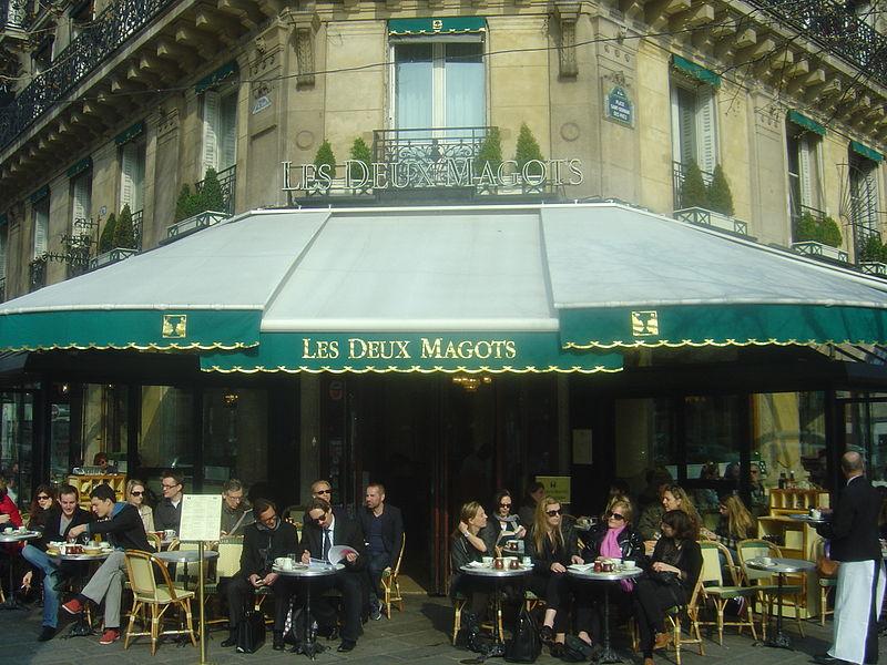 Cafe Deux Magots Paris