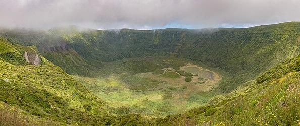 Caldeira Volcano, Faial Island, Azores, Portugal