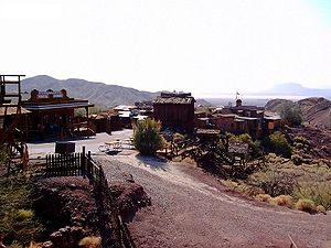 Calico and Odessa Railroad - Calico Ghost Town